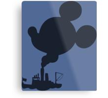 Mickey - Steamboat Willie Metal Print