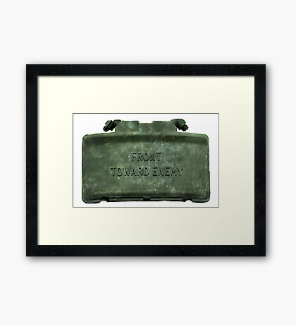 Front Towards Enemy - Claymore  Framed Print