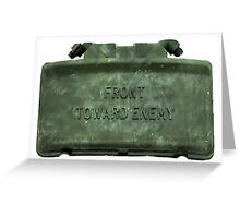 Front Towards Enemy - Claymore  Greeting Card