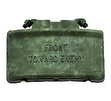 Front Towards Enemy - Claymore  Photographic Print