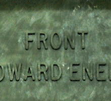 Front Towards Enemy - Claymore  Sticker