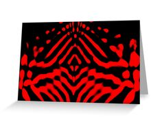I Cross The Void Beyond The Mind Greeting Card