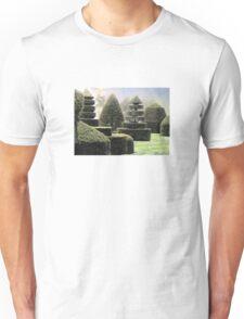 Dawn In A Topiary Garden Unisex T-Shirt