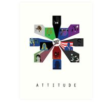 WWE - Attitude Era Art Print