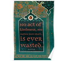 No Act of Kindness... Poster