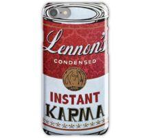 John Lennons Instant Karma  iPhone Case/Skin