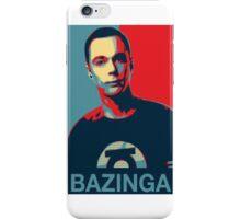 Bazinga. Sheldon TBBT iPhone Case/Skin