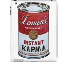 John Lennons Instant Karma  iPad Case/Skin