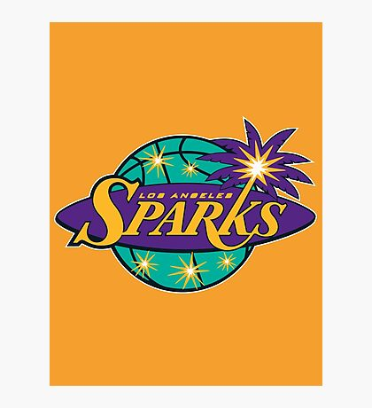 los angeles sparks Photographic Print