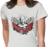 Marilyn Monroe 3 Womens Fitted T-Shirt