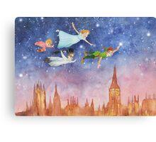 Peter Pan Sunset Canvas Print