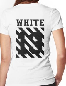 Off-White 13 (White) Womens Fitted T-Shirt
