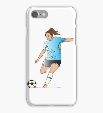 Soccer Girl iPhone Case/Skin