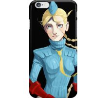 Alpha 3 Cammy print iPhone Case/Skin