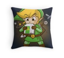 The Legend of Zelda Link Throw Pillow