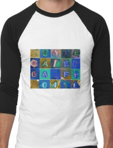 Cafe 2 Men's Baseball ¾ T-Shirt