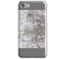 Beach Heart Love Tag iPhone Case/Skin