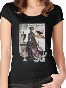 Carnivorous Orchid Women's Fitted Scoop T-Shirt