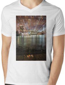 City Warp and Shoes Mens V-Neck T-Shirt