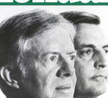 Carter Mondale 1980 Sticker
