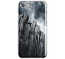 Wooden Smoky Mountain  iPhone Case/Skin