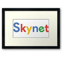 Skynet Framed Print