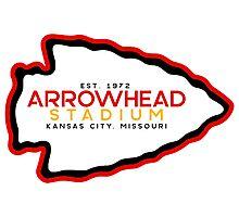 Arrowhead Stadium Photographic Print