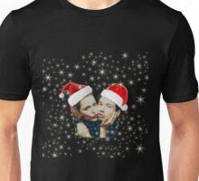 Gillian and David Christmas red Unisex T-Shirt