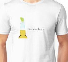 Corona Bottle and Lime Unisex T-Shirt