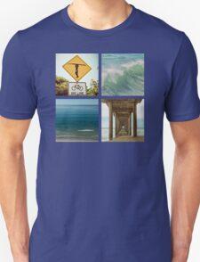 Surfer Girl Paradise Unisex T-Shirt