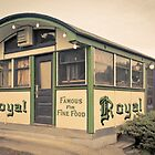 Royal Diner Famous for Fine Food by Edward Fielding