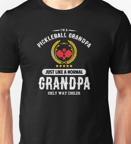 Pickleball Grandpa Unisex T-Shirt