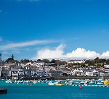 Saint Peter Port in Guernsey by chris2766
