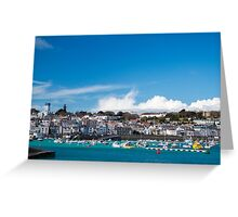 Saint Peter Port in Guernsey Greeting Card