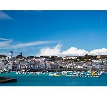 Saint Peter Port in Guernsey Photographic Print