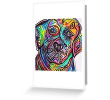 Lovable LAB Greeting Card