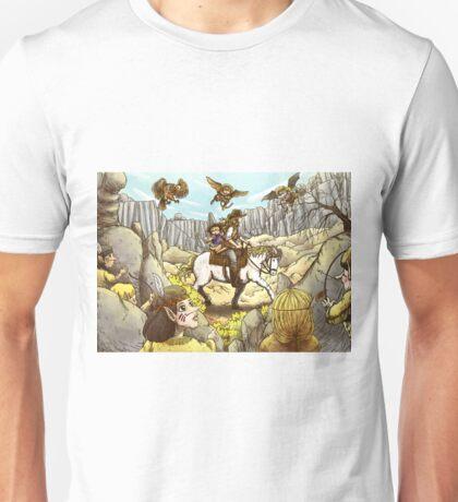 Danger In The Pass Unisex T-Shirt