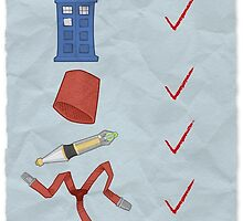 Timey Wimey Checklist by Adam Sanford