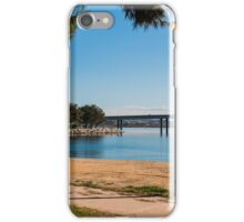 Lamp Post on Bay iPhone Case/Skin
