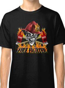 Fireman Skull Classic T-Shirt