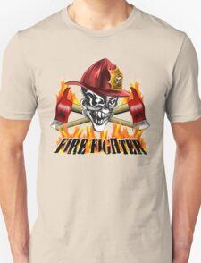 Fireman Skull T-Shirt