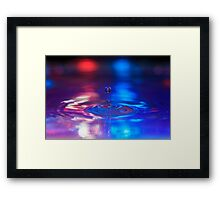 DROP Framed Print