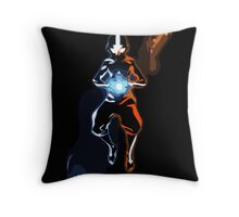 Positive and Negative Chakras Throw Pillow