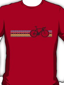 Bike Stripes World Champion (Chain) T-Shirt