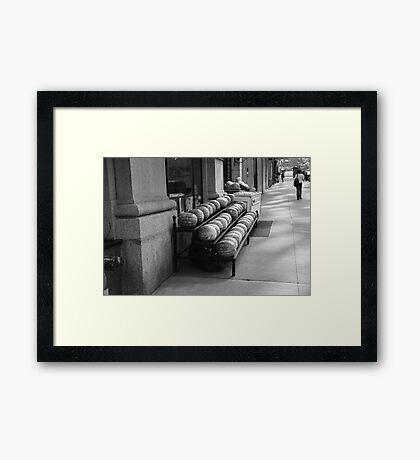 New York Street Photography 29 Framed Print