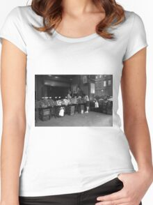 New York Street Photography 30 Women's Fitted Scoop T-Shirt