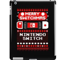 MERRY SWITCHMAS UGLY SWEATER iPad Case/Skin