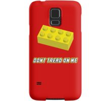 Don't Tread On Me Block Samsung Galaxy Case/Skin