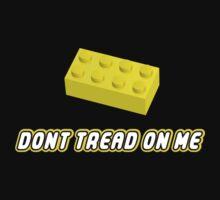 Don't Tread On Me Block Kids Tee