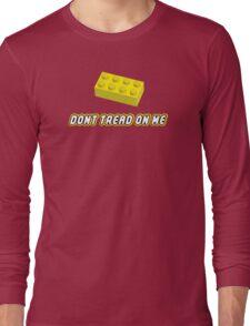 Don't Tread On Me Block Long Sleeve T-Shirt